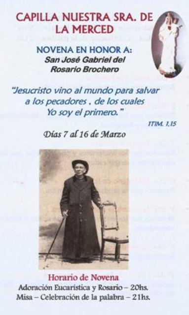 Novena en honor al Cura Brochero